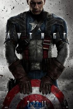 Captain America: The First Avenger Poster - Internet Movie Poster Awards Gallery #poster #promotional