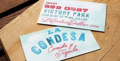 La Condesa Comida y Tequila | Strohl—Brand Identity, Packaging & Trademark Design
