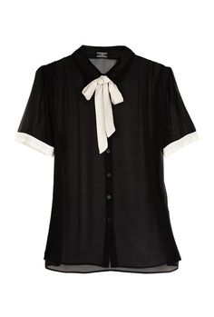Fashion(Malene Birger Broisi Bow Blouse |My Wardrobe, viaalamodel) #blouse