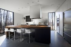 Onestep Creative - The Blog of Josh McDonald » Mont-Saint-Hilaire Residence #interior #modern #design #home #kitchen