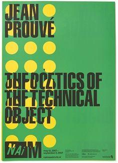 NAiM Jean Prouvé - Experimental Jetset #design #experimental #naim #prouv #jetset #jean