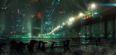 futuristic art by cinemagorgeous #futuristic #art #work