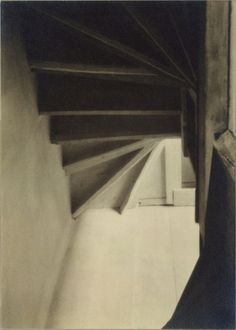 Doylestown House—Stairs from Below | Charles Sheeler | Photographs | Collection Database | Works of Art | The Metropolitan Museum of Art, #house #sheeler #doylestown #photography #stairs #1917
