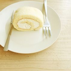 Take a break | Flickr - Photo Sharing! #cake #rollcake #cafe #tokyo #dessert #light #japan
