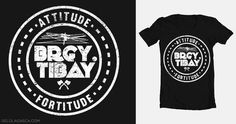 Brgy Tibay shirt design #typography #badge #street wear #shirt design