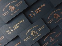 ODDDS studio via www.mr-cup.com #type #foil #printing