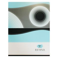 Retina Ophthalmologist Presentation Folder #folders #design #presentation #eyeball #eye #retina #circle #folder
