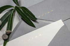 Anima Restaurant branding HOCHBURG Design Stuttgart Germany mindsparkle mag grey eat luxury corporate design stationery identity business ca