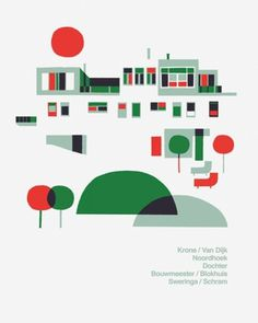 FormFiftyFive – Design inspiration from around the world » Blog Archive » Adrian Johnson #illustration #geometric #minimalistic #poster