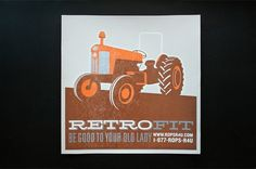 FPO: ROPS Tractor Posters #fit #sappi #retro #tractor #poster