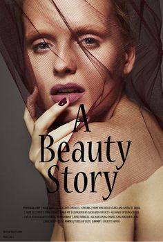 A Beauty Story #styling #layou #volt #cafe #photography #fashion #magazine #beauty