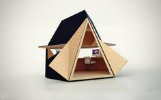 Unique Portable Wooden Home Office #WoodenHome #Portable