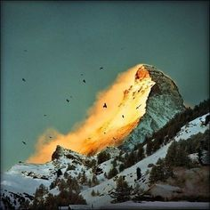 YIMMY'S YAYO™ #mountain #fire #snow
