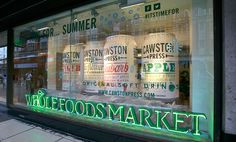 Cawston Press Wholefoods window display