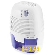 XROW #- #600A #21W #Portable #Mini #Dehumidifier #- #WHITE