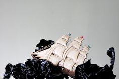 Paul Octavious - The Black Stuff #vinyl #photography #art #mixed #media