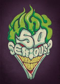 FFFFOUND! | meh.ro8714.png (900×1260) #joker #why #serious #so