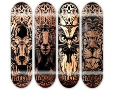 Lasered & Etched on the Behance Network #deck #skate
