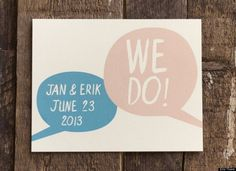 Etsy Weddings: Handmade Object Of The Week #wedding #invitation