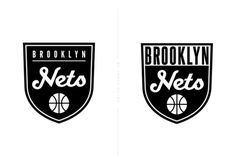 http://jamesdulce.tumblr.com/post/22254346002 #logo #brooklyn #black and white #basketball #sports #nets #shield