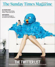 The Sunday Times Mag (UK) #cover #twitter #editorial #magazine