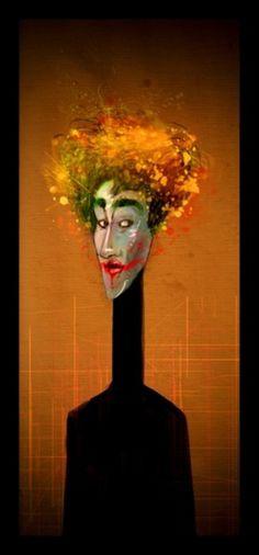 Marc González #joker #illustration