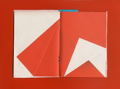 Fold Laura Knoops   Graphic design #fold #notebook #color #colour