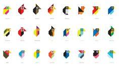 tonybuckland-birds.png (PNG Imagen, 711x400 pixels) #ideas #illustration #pixel