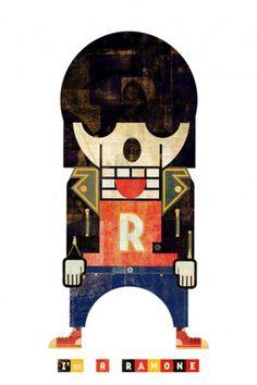 Muertitos : Christian Montenegro #illustration #design #character #skull