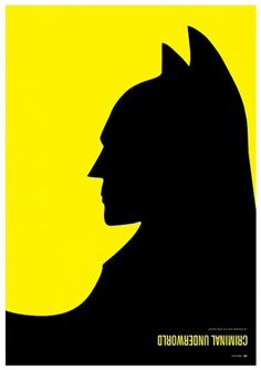 Batman vs. Penguin – Hero & Villain Poster Series by Simon C Page