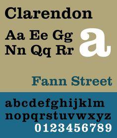 Clarendon #font #clarendon #typeface