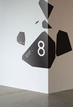Wayfinding #type #design #graphic