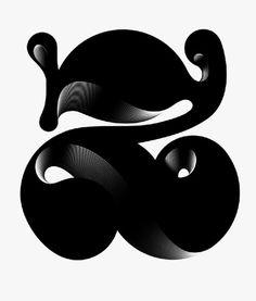 alex-trochut-23.jpg (Imagem JPEG, 450x530 pixéis) #vector #alex #black #letter #type