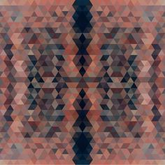 Pattern Collage - sallie harrison #pattern #wallpaper #design #geometric #triangles #collage #patterns