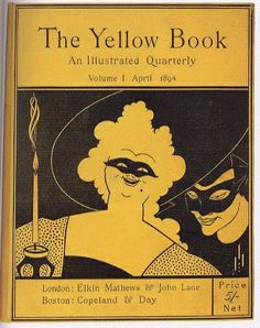 Beardsley_The_Yellow_Book.jpg 400×506 pixels #print #books #retro #publishing #illustration #arts #fine