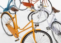 The colours of a city | Note Design Studio #bicycle #design #sweden