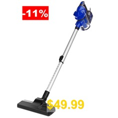 SV #- #829 #Powerful #2-in-1 #Handheld #Vacuum #Cleaner #- #BLUE
