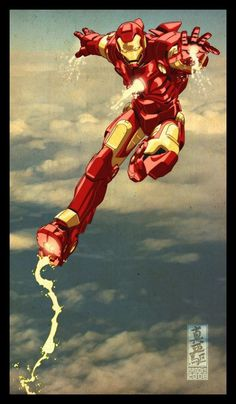Iron Man comics art