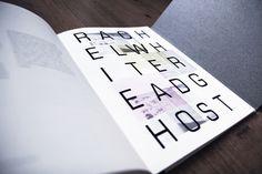 Addendum on Behance #print #design #graphic #book #layout #typography