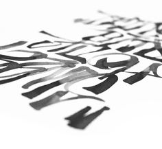 http://www.behance.net/gallery/Brush/6846887 #calligraphy #kossyo #brush #pit