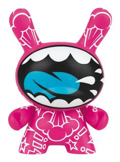 SHOUT OUT: Kidrobot x Swatch on Behance #design #vinyl #illustration #character #toy