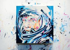 Pilot 2 by Michael Kagan #pilot #painting