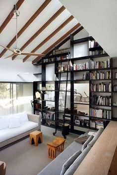 THE FRESH COLLECTIVE #wood #house #black #books