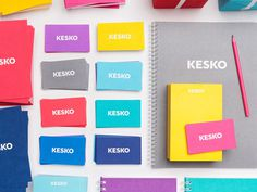 Kesko Branding, by September Industry #inspiration #creative #branding #design #graphic #colorful