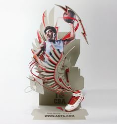 shotopop » ANTA #artistic #design #shoes #basket