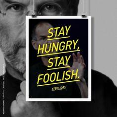 steve jobs #steve #jobs #poster #typography