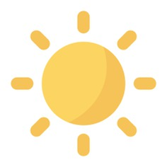 See more icon inspiration related to sun, light, weather, bright, contrast, ui, brightness, television, eclipse, settings and tv screen on Flaticon.