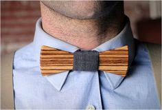 Wooden bowtie #wooden #preppy #fashion #bow #tie