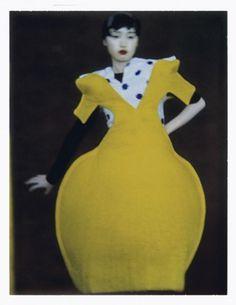 Sunday, 27 March 2011 #pokadots #yellow #dress