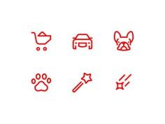 Verb icons #icon #icondesign #pictogram